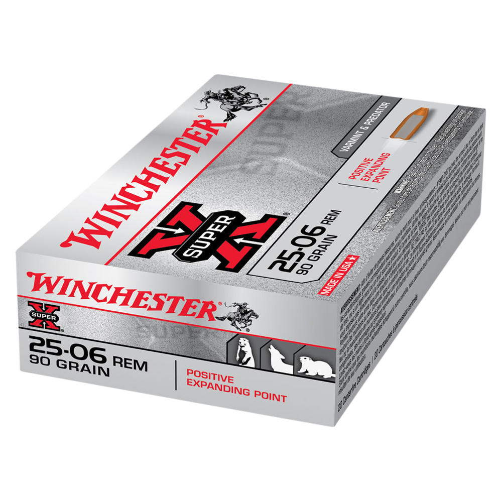 Winchester Super X 25-06Rem 90gr PEP