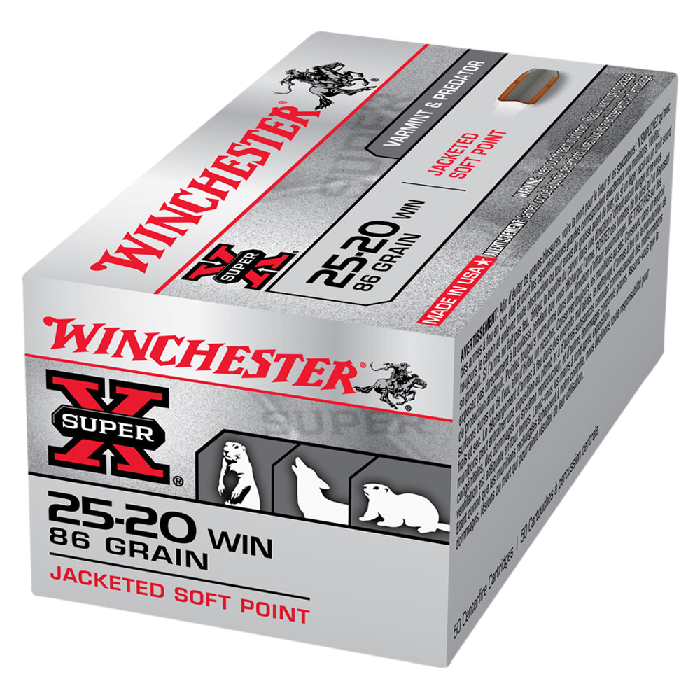 Winchester Super X 25-20Win 86gr SP