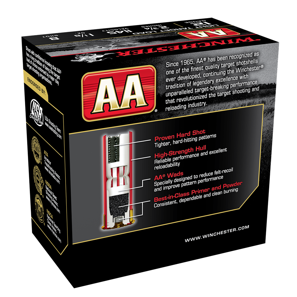 Winchester AA Lite Target 12G 8 2-3/4