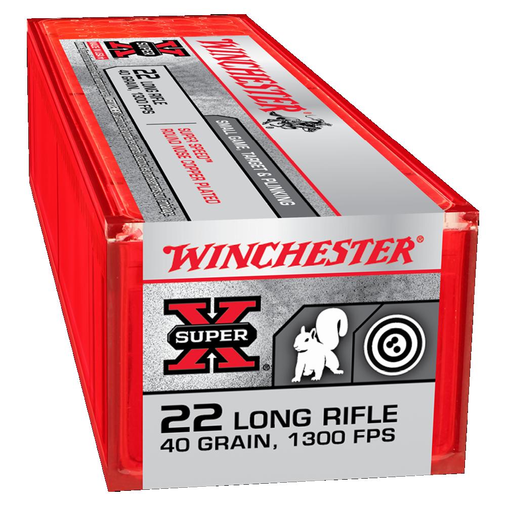 Winchester Super X Super Speed 22LR 40gr solid