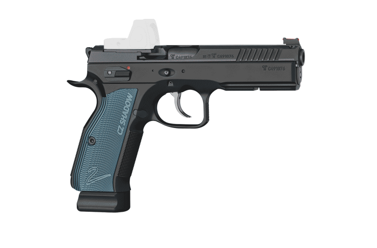 CZ 75 SP-01 Shadow 2 9MM Optic Ready, 2 S/Mag 10rnd Mag 120mm