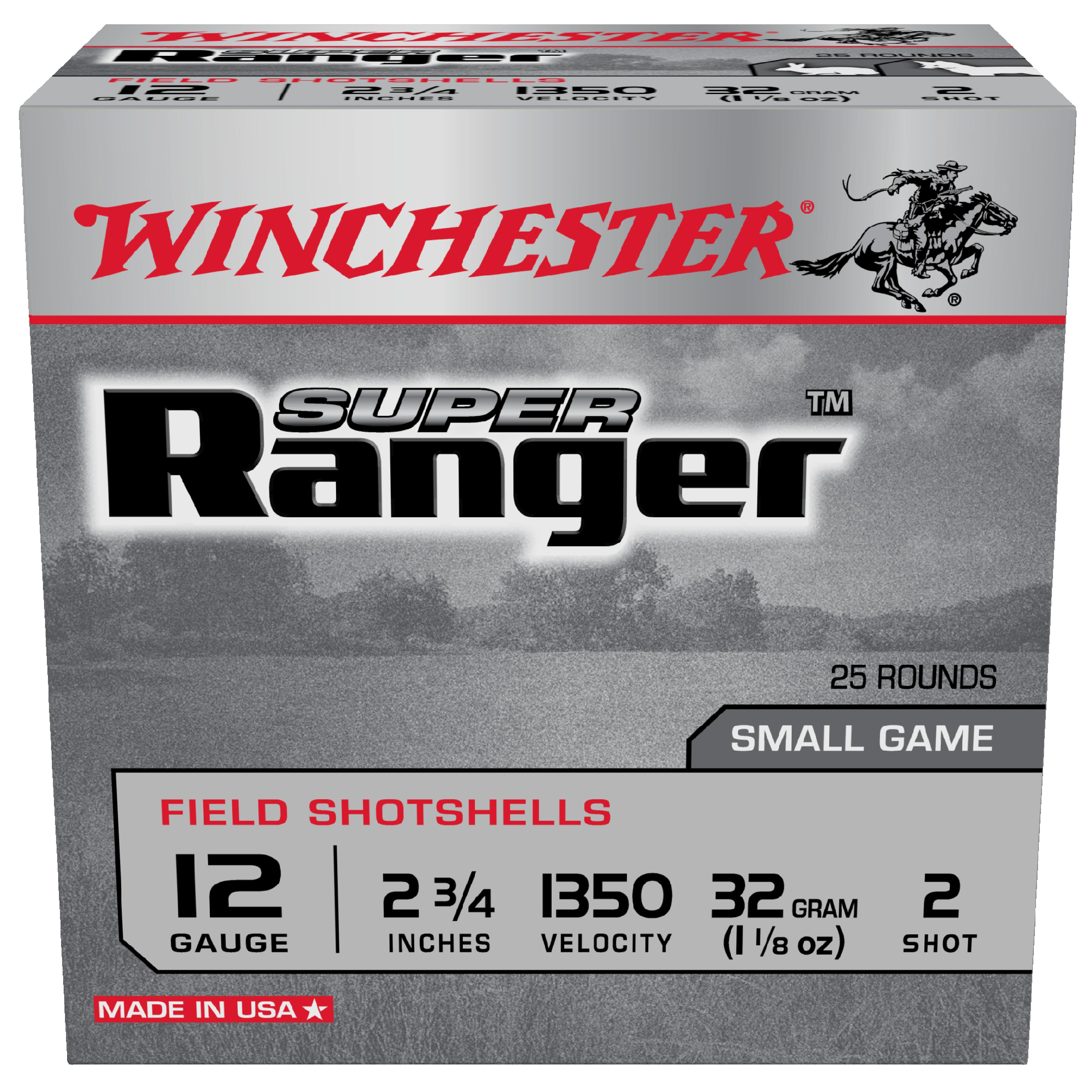 Winchester Super Ranger 12G 2 2-3/4