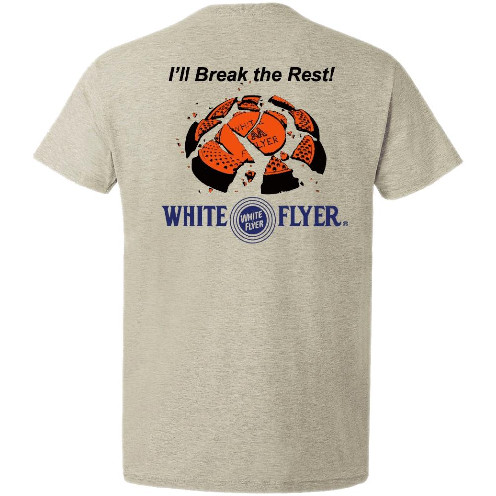 White Flyer S/S Shirt Medium Grey