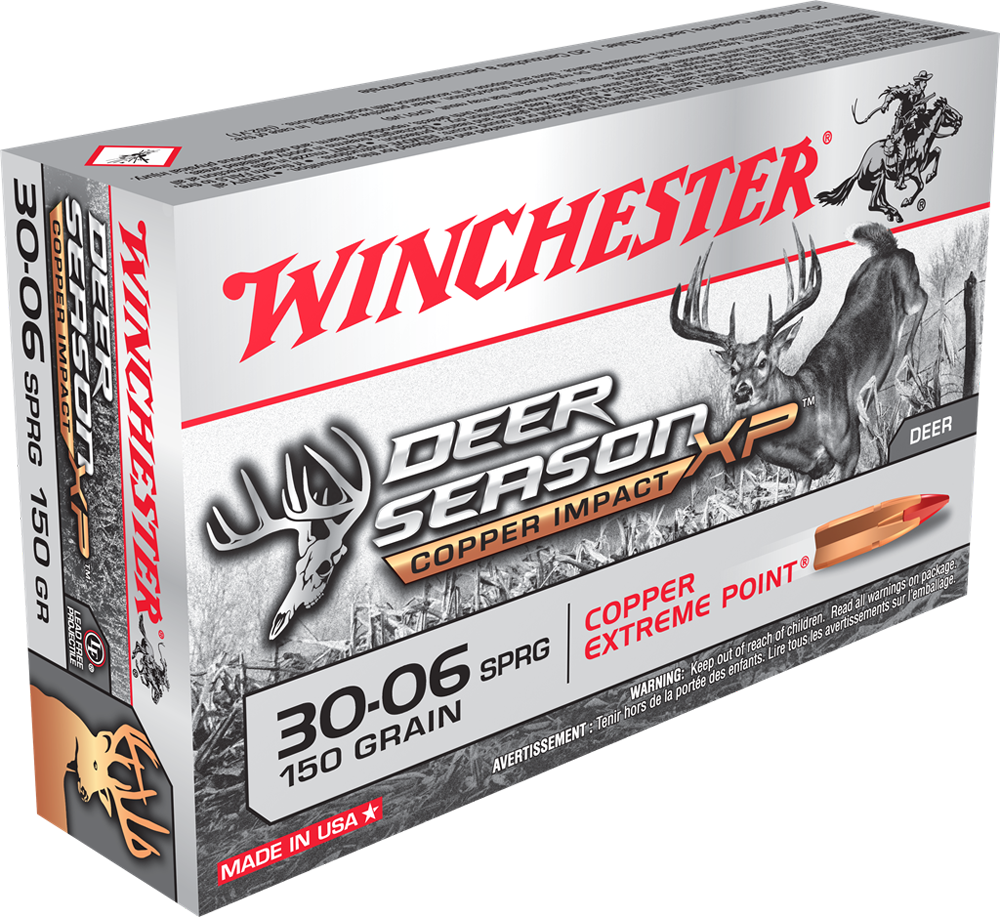 Winchester Deer Season Copper Impact LF 30-06sprg 150gr XP