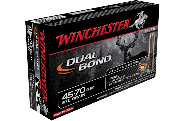 Winchester Dual Bond 45-70Gov 375gr JHP
