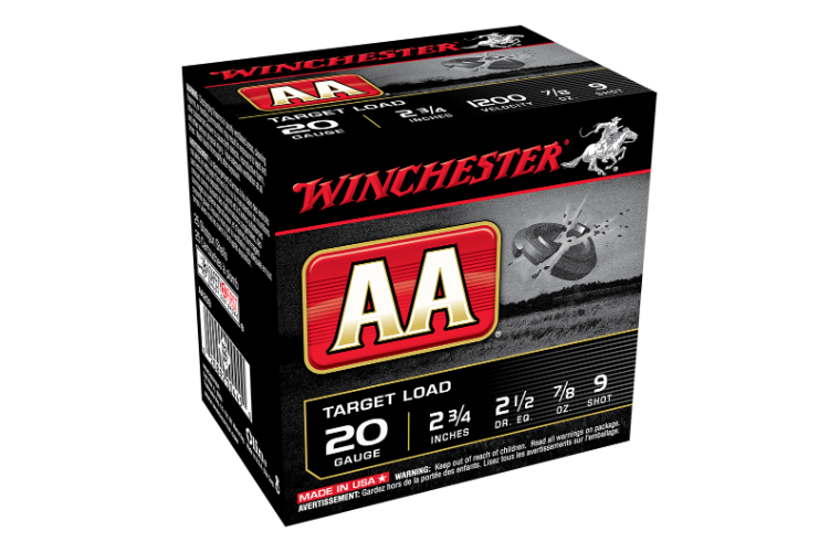 Winchester AA Target 20G 9 2-3/4