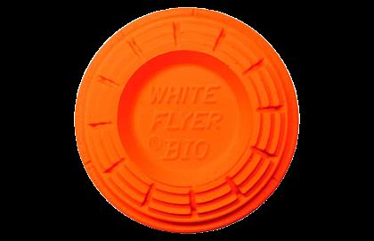 White Flyer Blackout Trap / Skeet Orange Top Clay Targets