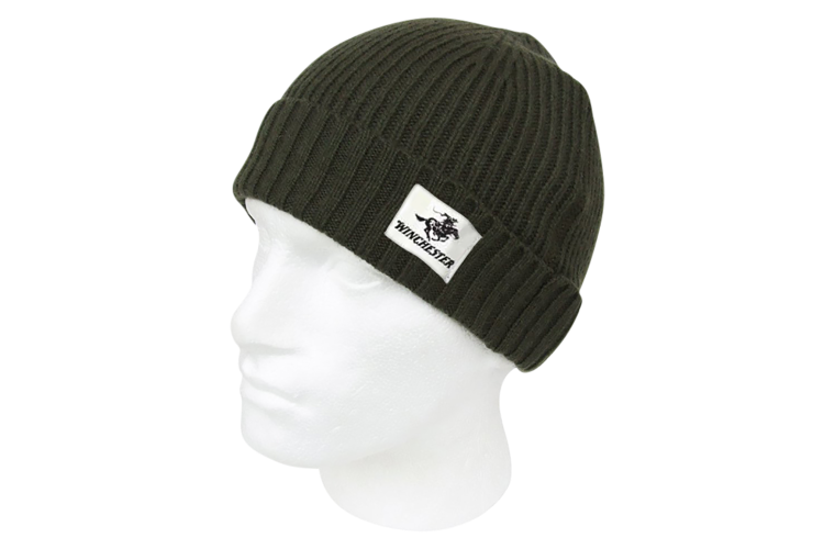 Winchester Cable Knit Beanie Green