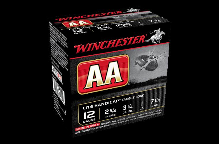 Winchester AA Lite Handicap 12G 7.5 2-3/4