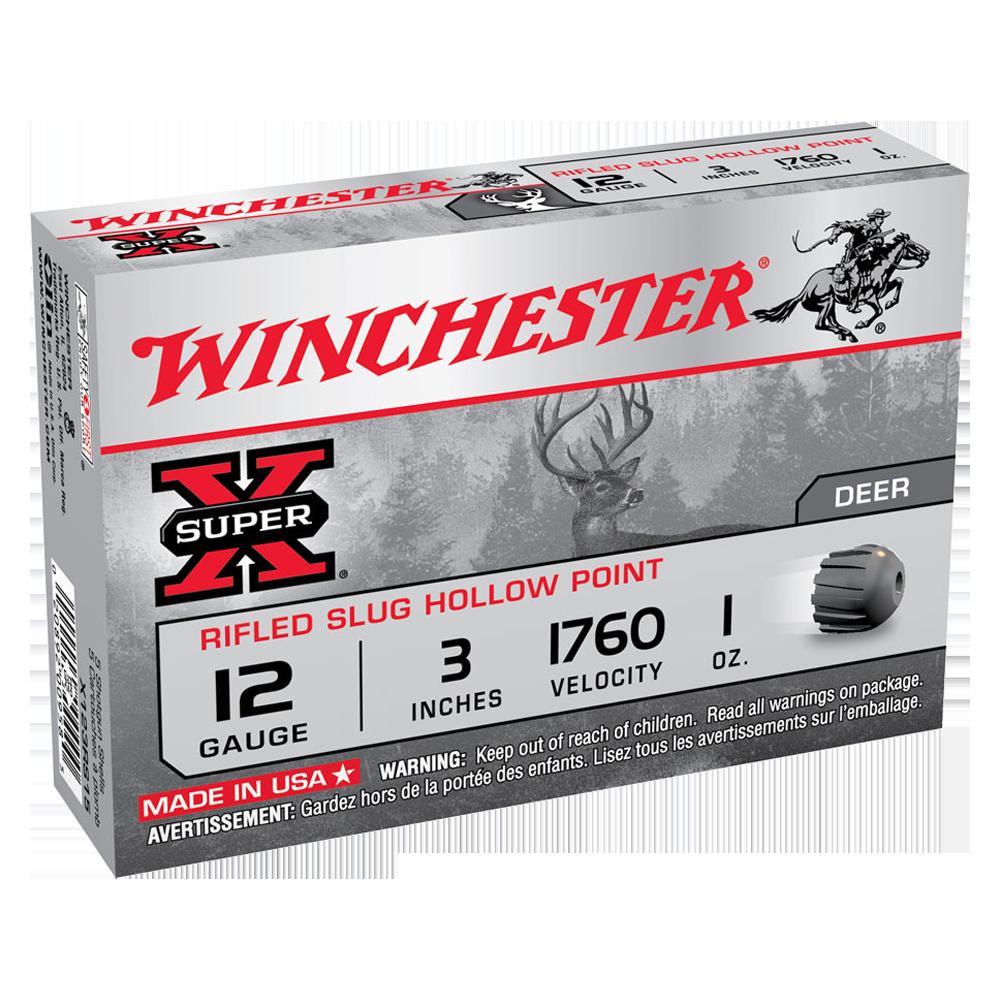 Winchester Super X 12G rifled slug 3