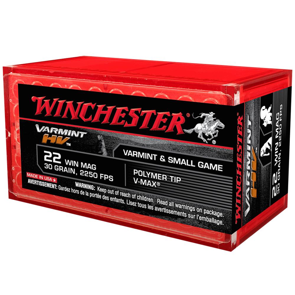 Winchester Varmint HV 22WMR 30gr VMax