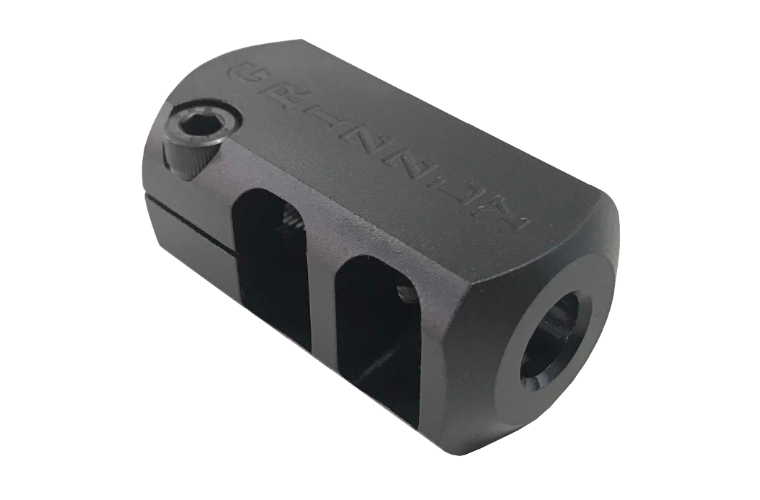 Grizzly Brake Tac Square Compact M15x1P Blued