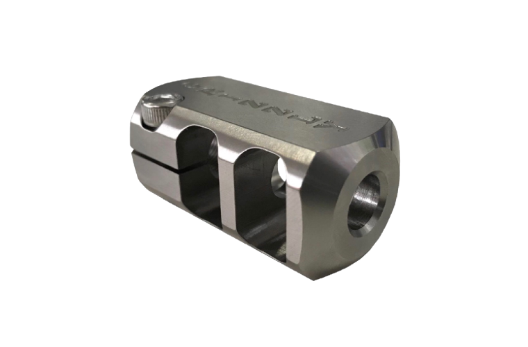 Grizzly Brake Tac Square Compact M15x1P SS