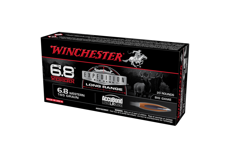 Winchester Expedition Big Game 6.8 Western 165gr ABCT