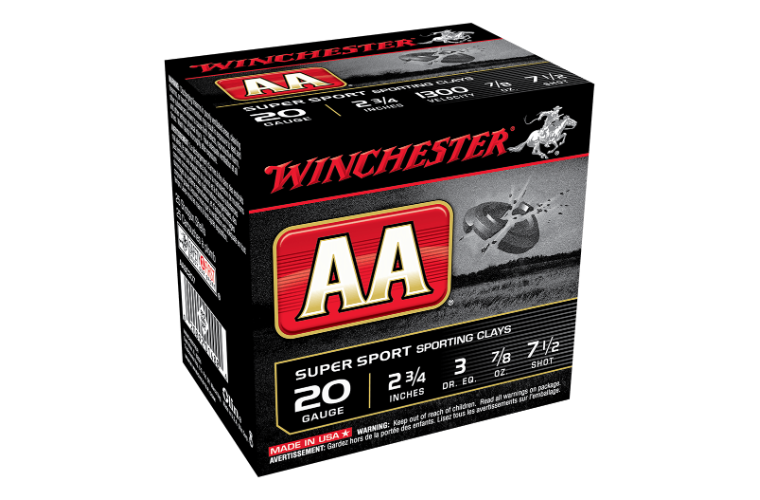 Winchester AA Super Sporting 20G 7.5 2-3/4