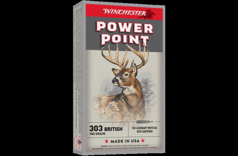 Winchester Super X 303 British 180gr PP