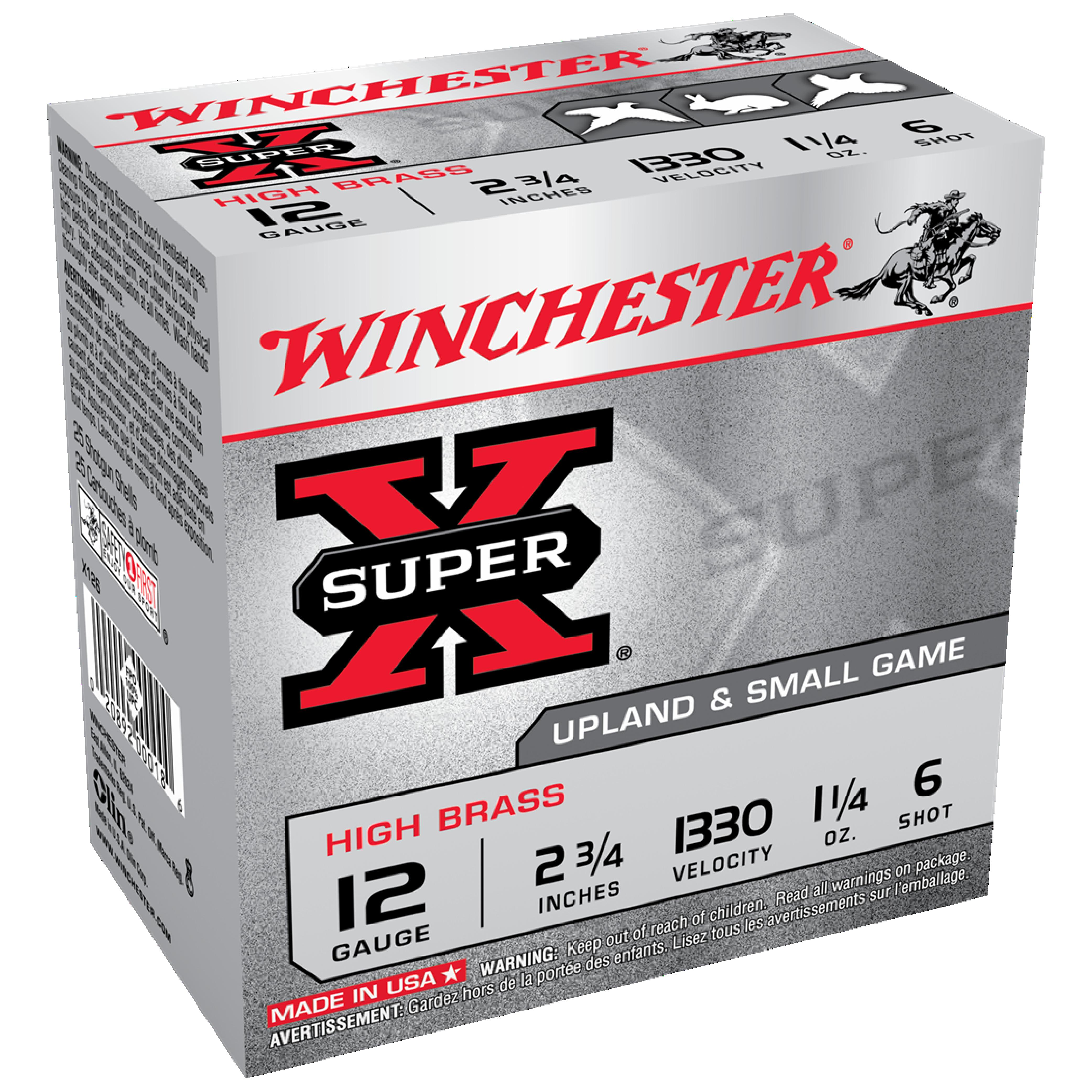 Winchester Super X HS 12G 6 2-3/4