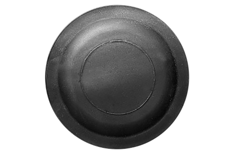 White Flyer Pitch All Black Battue Clay Targets