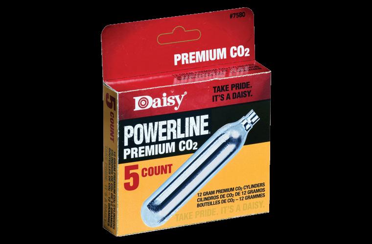 Daisy CO2 cylinders 12gr (5pk)