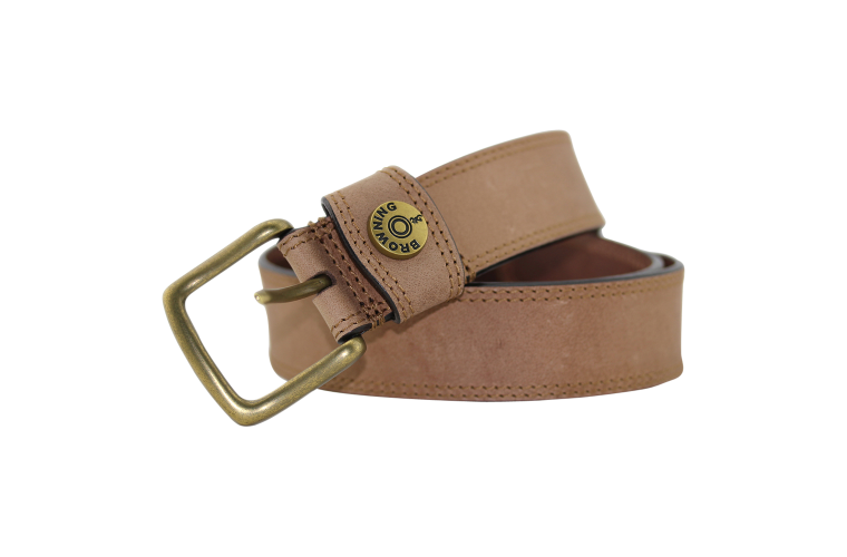 Browning Slug Belt Tan - Size 44