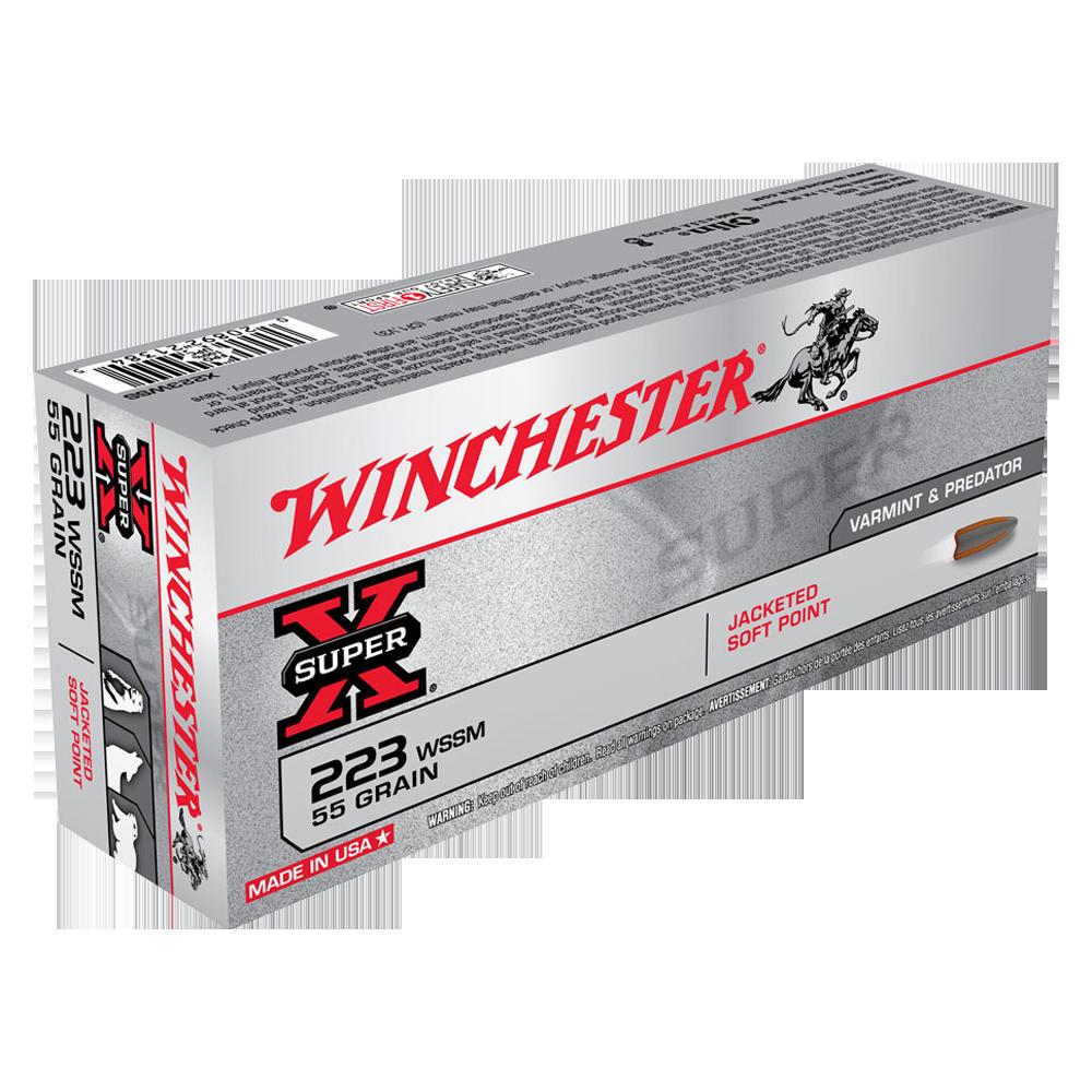 Winchester Super X 223WSSM 55gr PSP