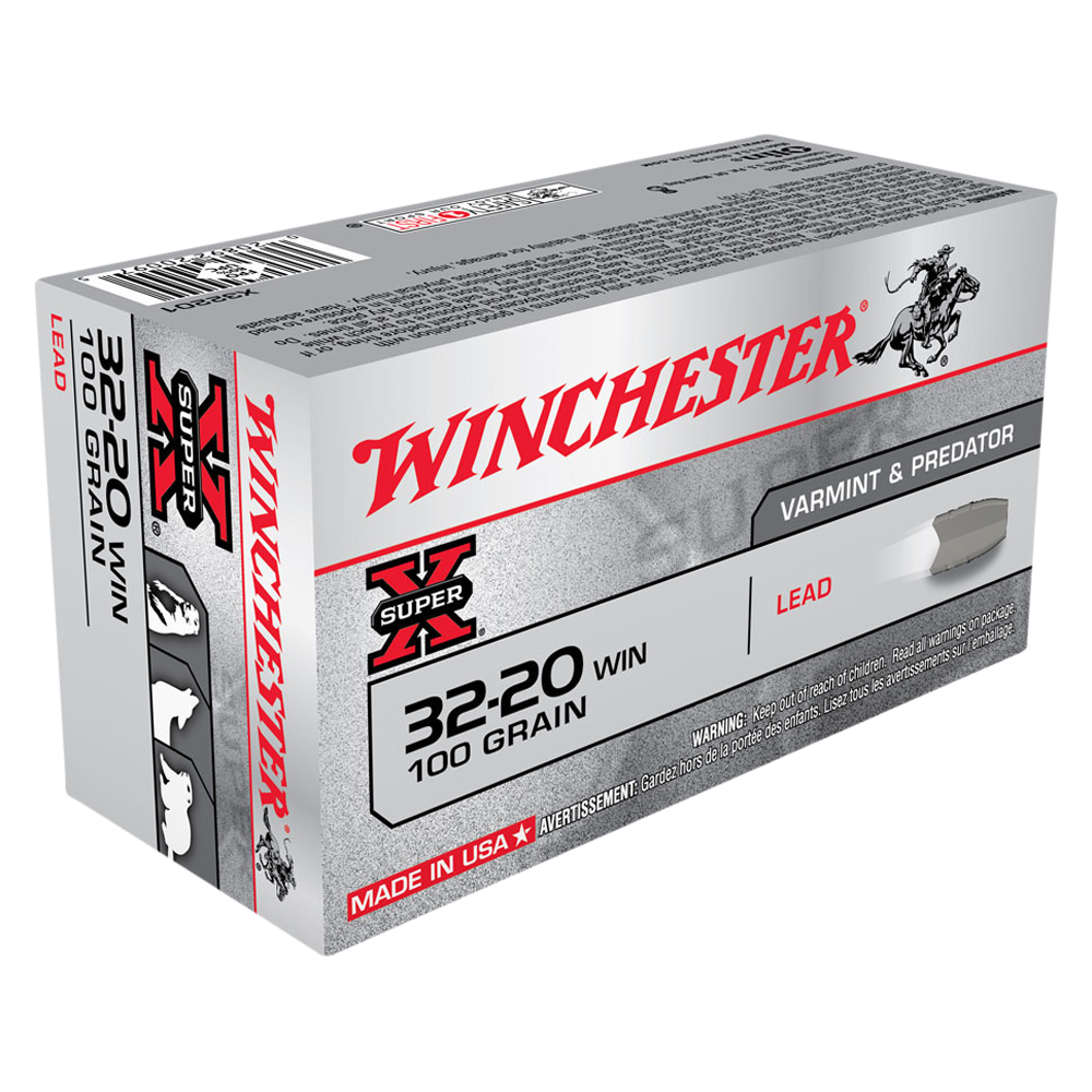 Winchester Super X 32-20Win 100gr Lead