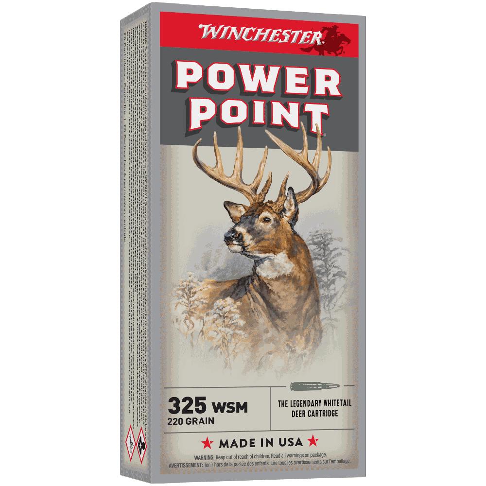Winchester Super X 325WSM 220gr PP