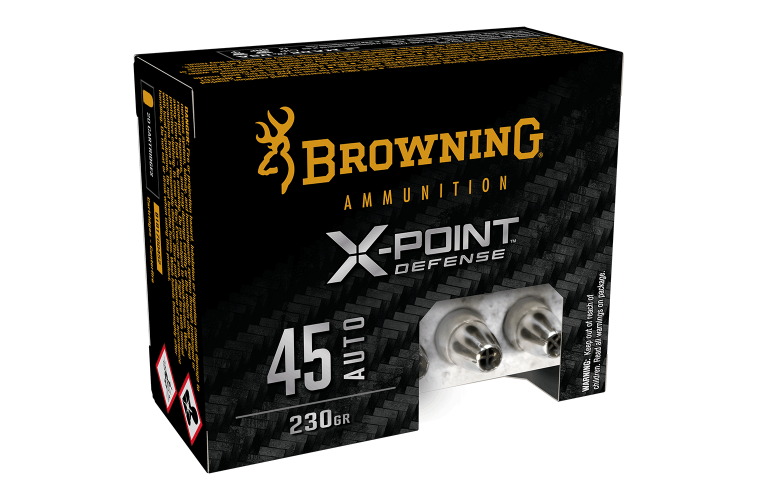 Browning X-Point Defense 45 Auto 230gr X-Point