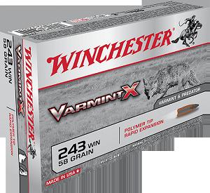 Winchester Varmint X 243Win 58gr PT