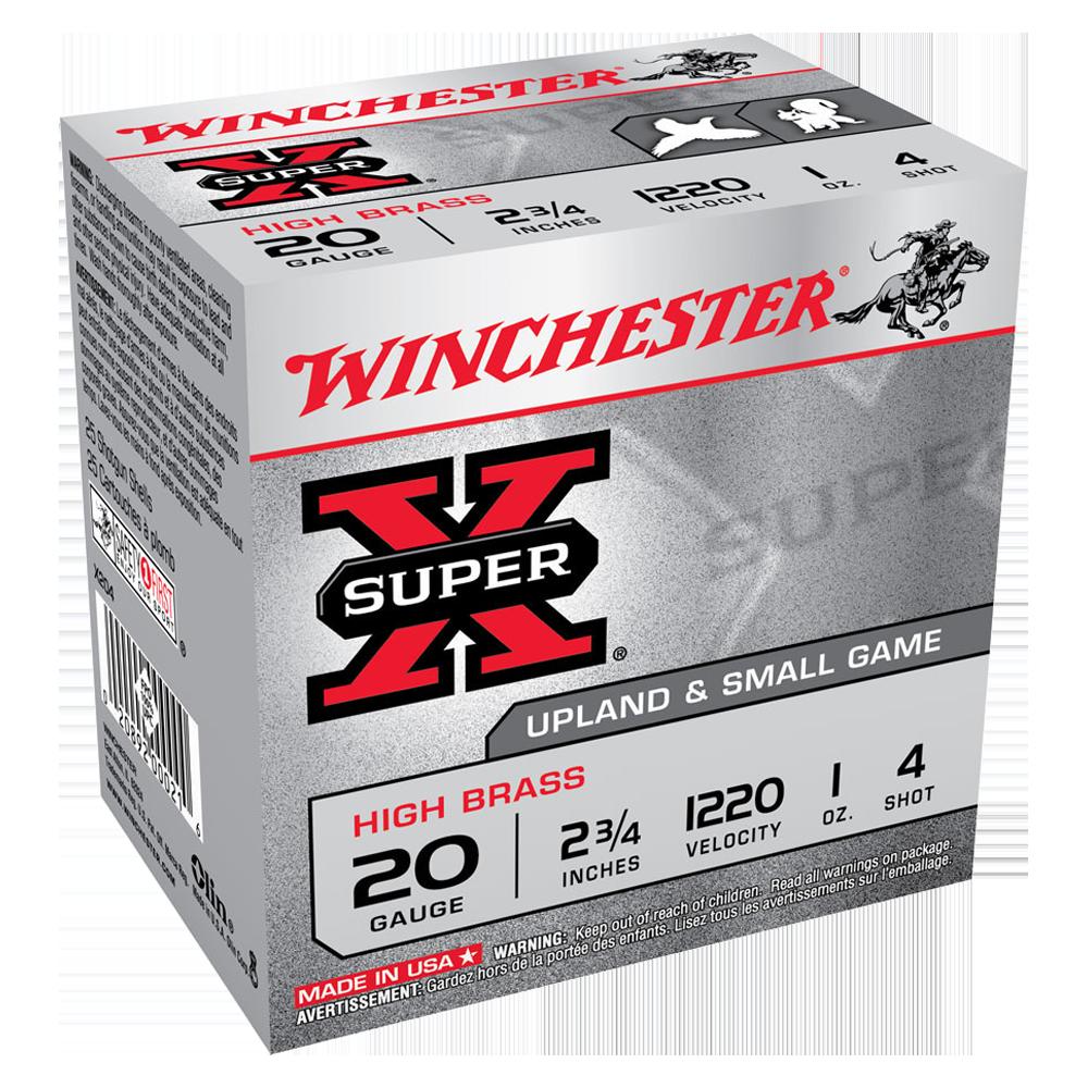 Winchester Super X 20G 4 2-3/4