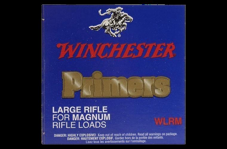 Winchester Large Rifle Magnum primer #8- 1/2M-120