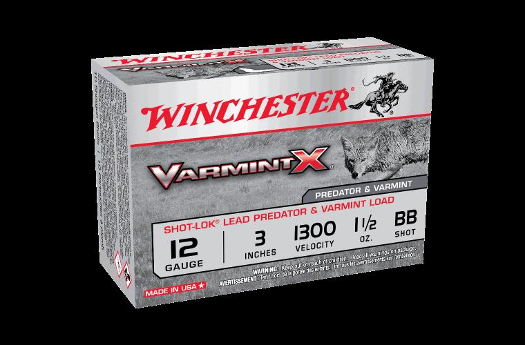 Winchester Varmint X 12g BB 3