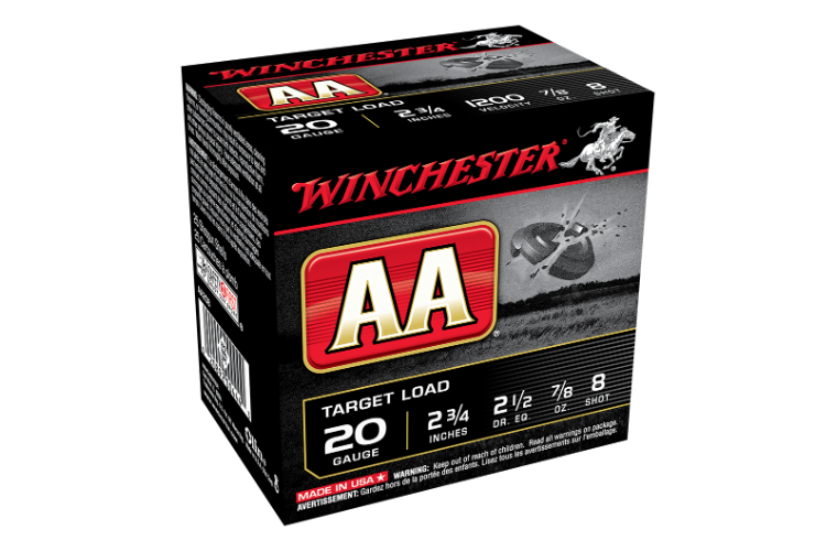 Winchester AA Target 20G 8 2-3/4