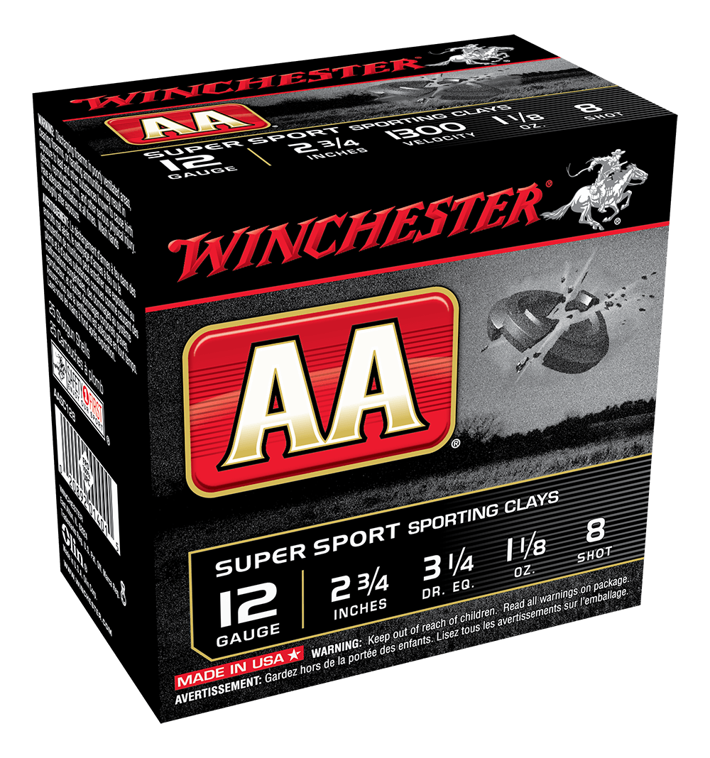 Winchester AA Super Sporting 12G 8 2-3/4