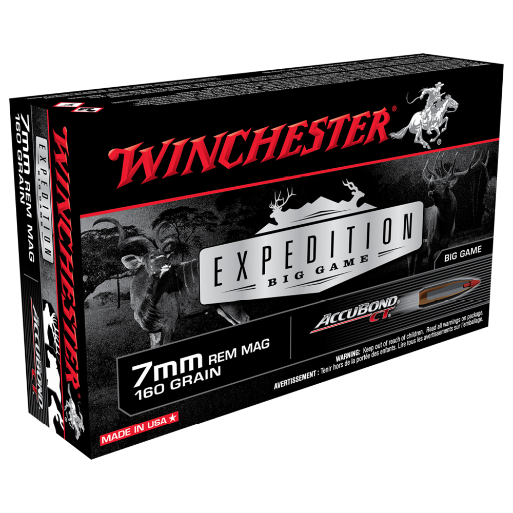 Winchester Expedition Big Game 7MMRM 160gr ABCT