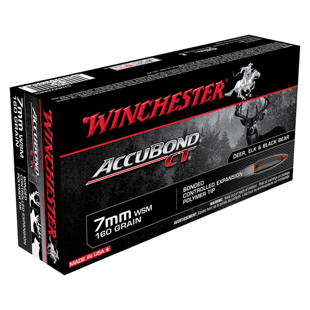 Winchester Expedition Big Game 7MMWSM 160gr ABCT