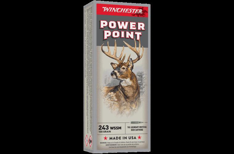 Winchester Super X 243WSSM 100gr PP