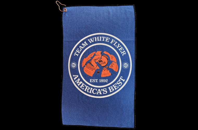 White Flyer Shooting Towel