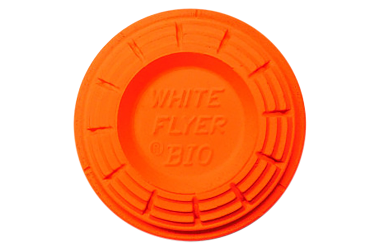 White Flyer Orange Top Bio Normal Clay Targets