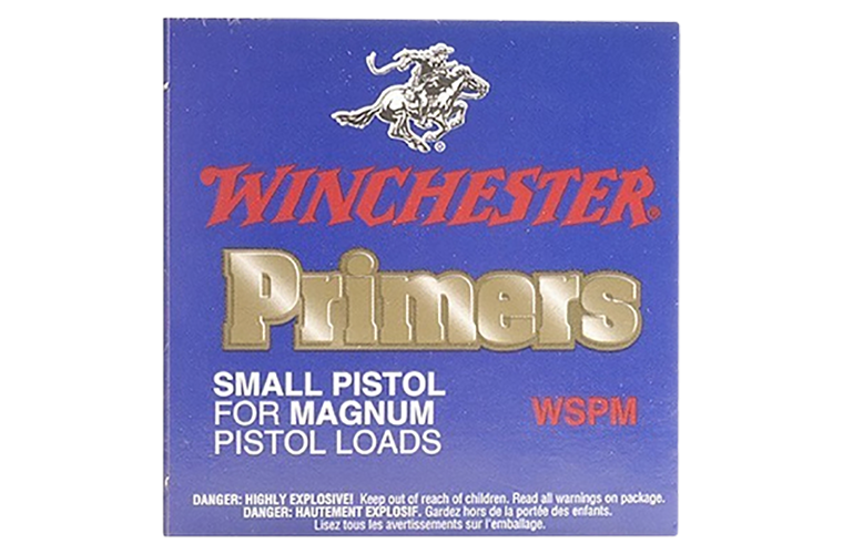 Winchester Small Magnum Pistol primer #1 -1/2M-108