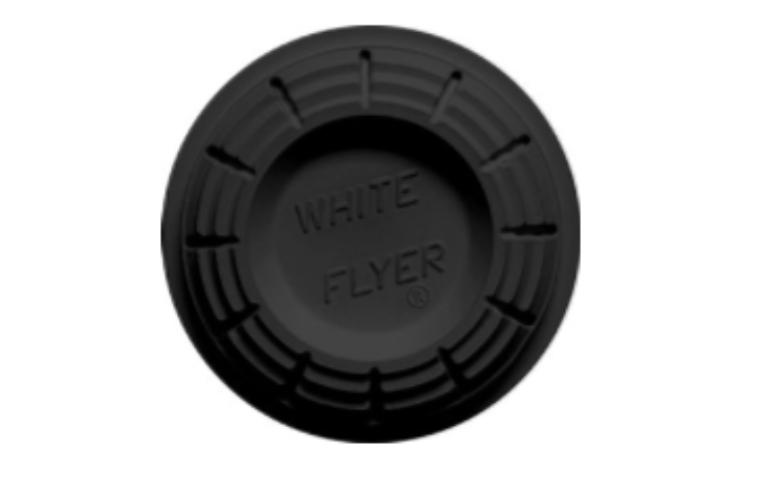 White Flyer Blackout All Black Clay Targets