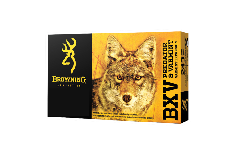Browning BXV 243win 65gr VE