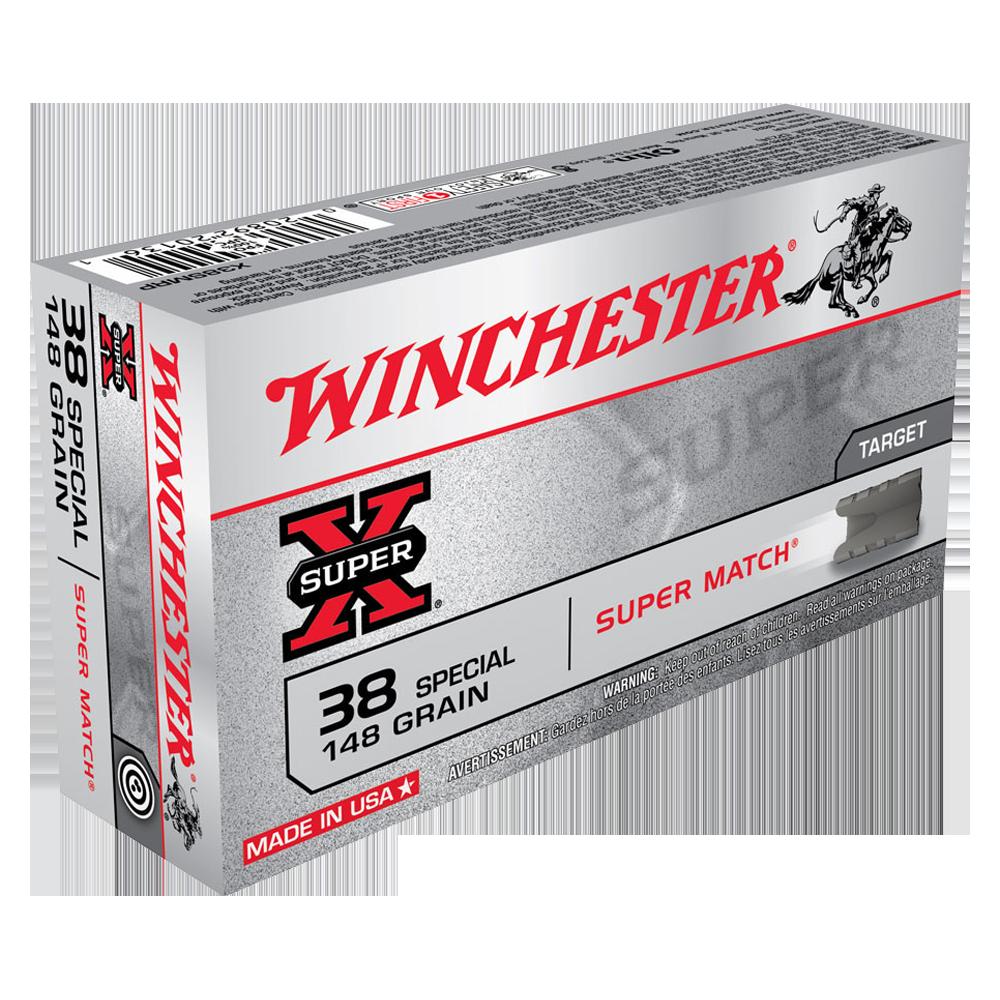 Winchester Super X Super Match 38SP 148gr LWC