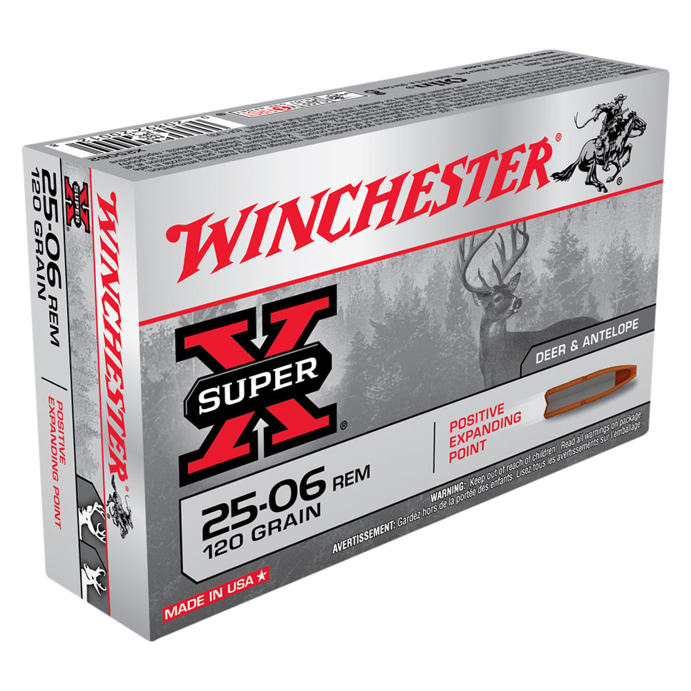 Winchester Super X 25-06Rem 120gr PEP