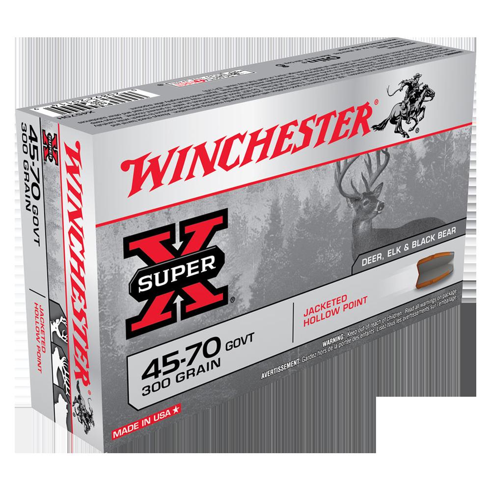 Winchester Super X 45-70Gov 300gr JHP