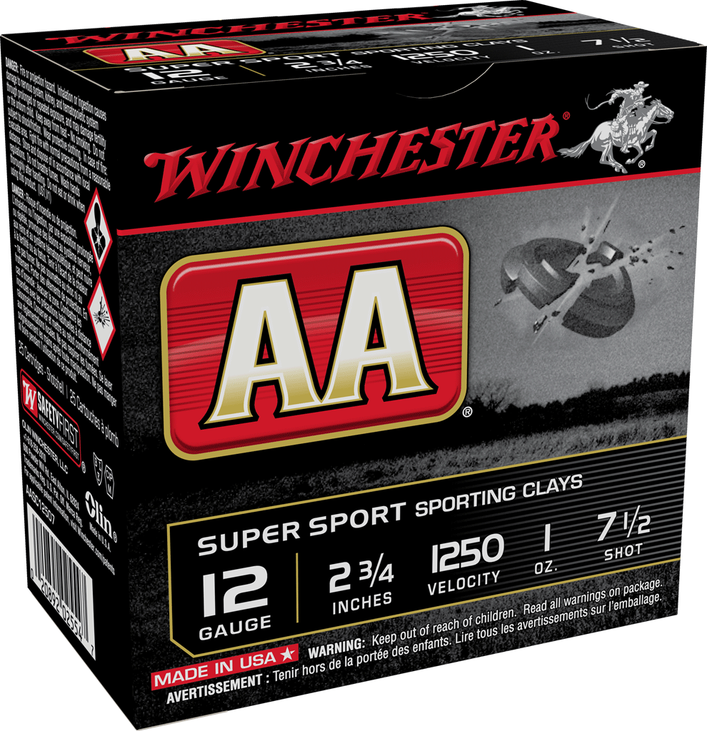 Winchester AA Super Sporting 12G 7.5 2-3/4