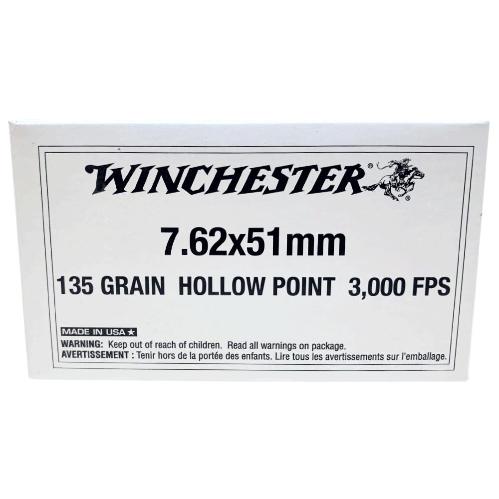 Winchester 7.62 135gr HP