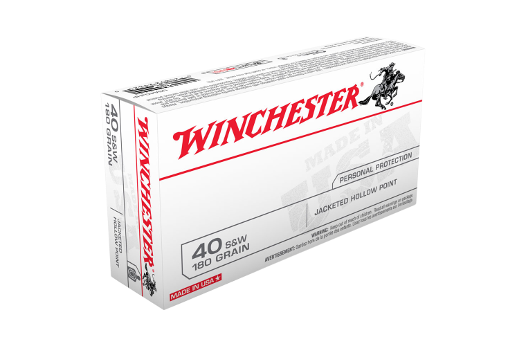 Winchester USA value pack 40S&W 180gr JHP