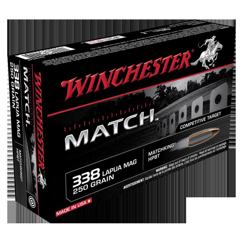 Winchester Match 338LapMag 250gr HPBT