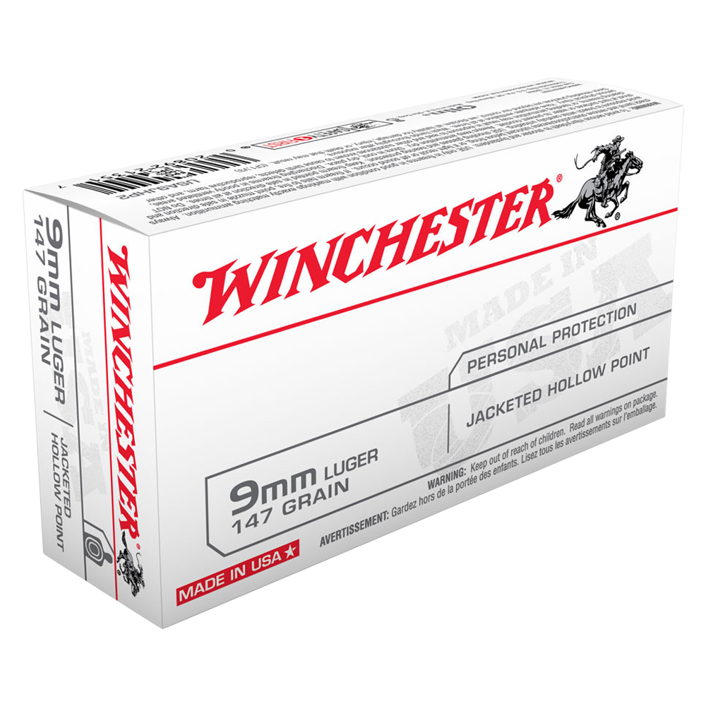 Winchester USA value pack 9MM 147gr JHP